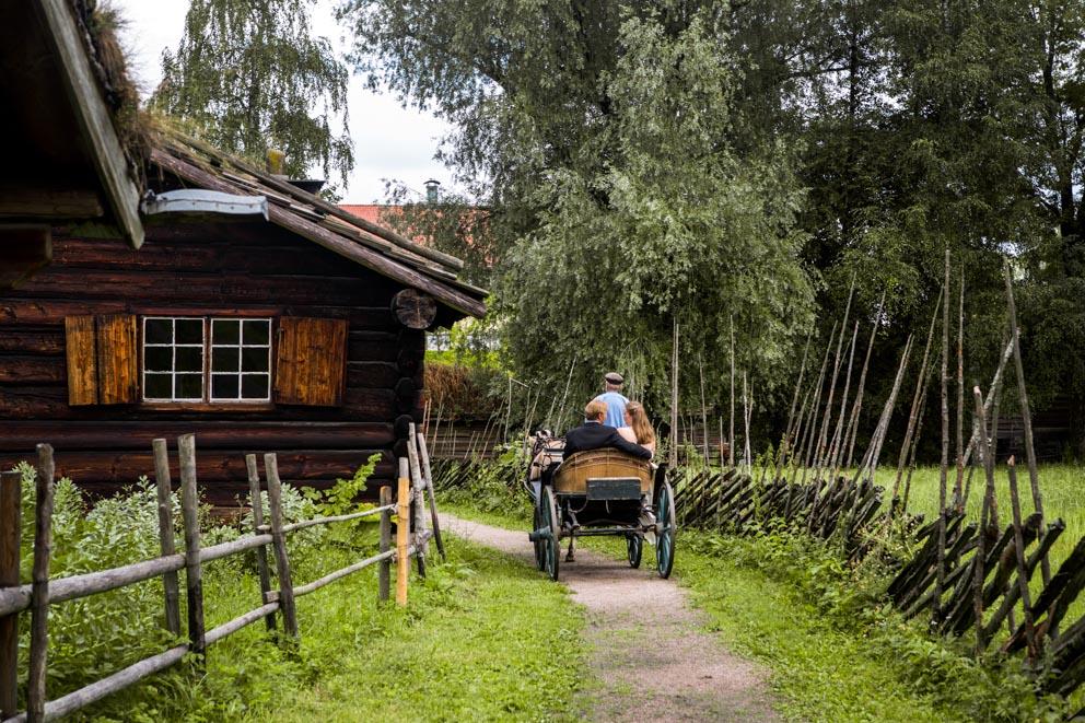 Bryllup på Norsk Folkemuseum
