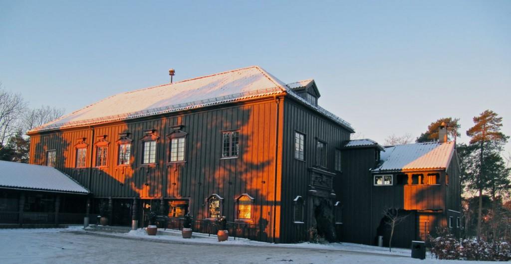 Julebord i Oslo, på på Gjestestuene.