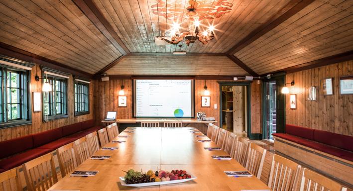 Møtedag på Gjestestuene selskapslokaler i Oslo