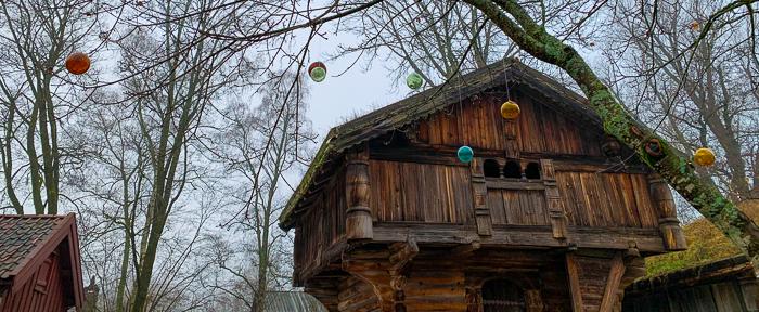 Vinter på Norsk Folkemuseum